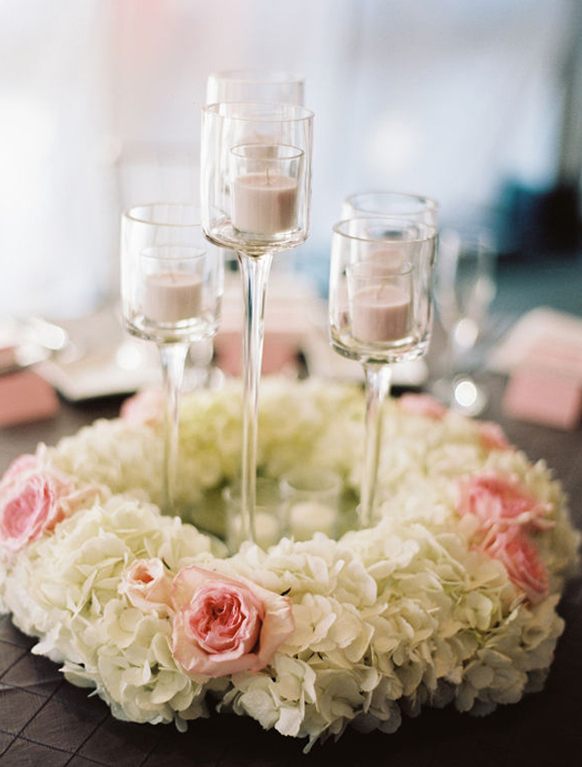 short-wedding-reception-hydrengeas-flowers-centerpiece-with-floating-candles.jpg